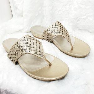 Madeline Cressy Champaign sandal